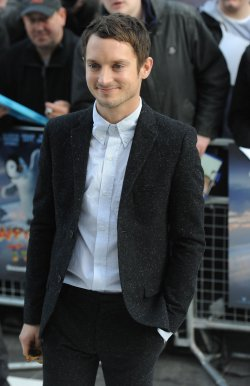 "Elijah Wood attends the premiere of ""Happy Feet Two"" in London"