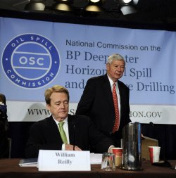 National Commission on BP Deepwater Horizon Oil Spill holds hearing in Washington