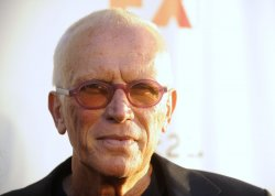 Peter Weller attends the Sons of Anarchy, Season 4 premiere screening in the Hollywood