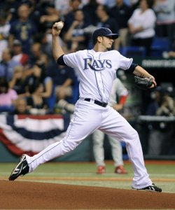 Game two of the World Series between the Tampa Bay Rays and Philadelphia Phillies in Tampa Bay