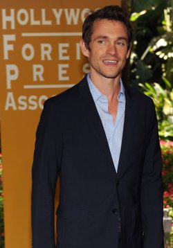 Hugh Dancy attends the Hollywood Foreign Press Association luncheon in Beverly Hills