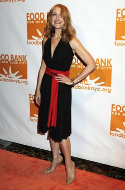 Patricia Clarkson arrives for the Can-Do Awards in New York