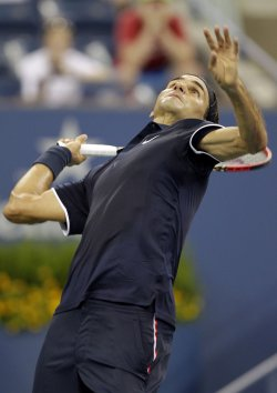 U.S. Open day one in New York