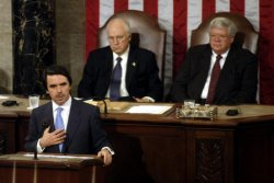 SPANISH PRESIDENT ADDRESSES CONGRESS