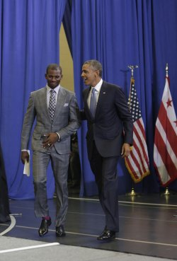 "Obama Attends ""My Brothers Keeper"" Event in DC"