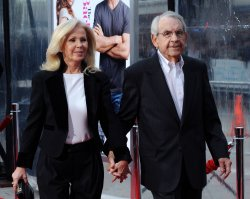 "Tom Bosley attends ""The Back-up-Plan"" premiere in Los Angeles"