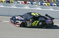 NASCAR Daytona 500 practice in Daytona Beach, Florida