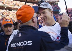 Denver Broncos Quarterback Peyton Manning Named Offensive Player of the Year