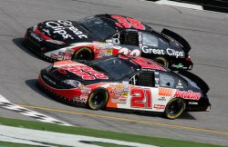 NASCAR BUSCH SERIES WINN DIXIE 250 IN DAYTONA BEACH