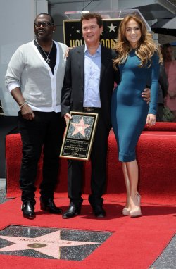 Simon Fuller receives star on the Hollywood Walk of Fame in Los Angeles