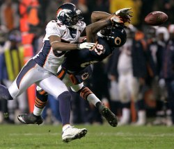 NFL Football Denver Broncos vs Chicago Bears