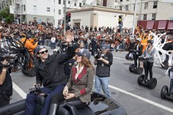 San Francisco celebrates the Giants winning the World Series