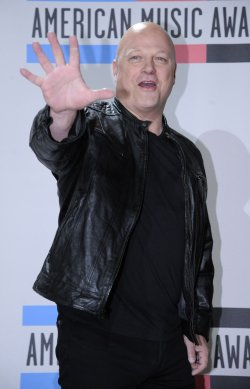 Actor Michael Chiklis poses backstage at the 2010 American Music Awards Los Angeles