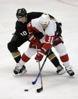 DETROIT RED WINGS VS ANAHEIM DUCKS WESTERN CONFERENCE FINALS