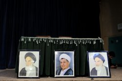 Hassan Rouhani presidential campign rally in Tehran, Iran