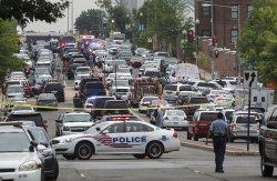 Police Respond to Reports of Gunshots at Navy Yard in Washington, D.C.