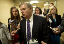 Senators Work on Immigration Reform Bill in Washington