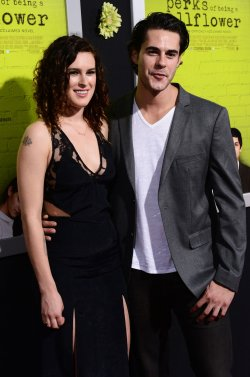 """Rumer Willis and Jayson Blair attend """"The Perks of Being a Wallflower"""" premiere in Los Angeles"""