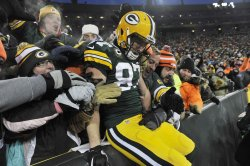 San Francisco 49ers at Green Bay Packers NFL Football Wildcard Playoff