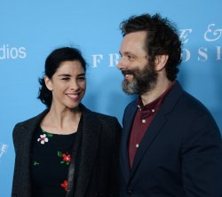 "Sarah Silverman and Michael Sheen attend the ""Love & Friendship"" premiere in Los Angeles"