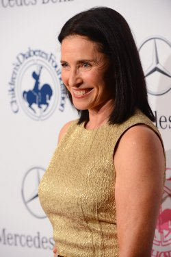 Mimi Rogers attends the 2012 Carousel of Hope gala in Beverly Hills, California