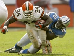 Detroit Lions at Cleveland Browns