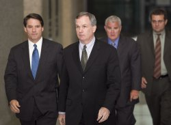 Fitzgerald leaves court after Blagojevich trial in Chicago