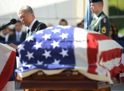 President Obama attends funeral of Senator Inouye in Hawaii