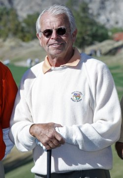 William Devane arrives at the Bob Hope Classic Golf Pro-Am in La Quinta