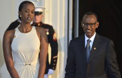 African heads of state arrive for US-Africa Leaders Summit State Dinner in Washington