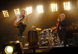 THE POLICE LIVE IN CONCERT IN TORONTO