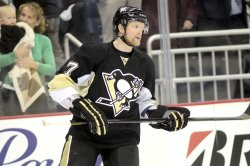 Penguins Defenseman Paul Martin in Pittsburgh