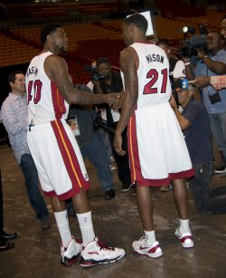 NBA Champion Miami Heat Media Day, Miami, Florida