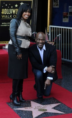 BeBe & CeCe Winans receive a star on Hollywood Walk of Fame in Los Angeles