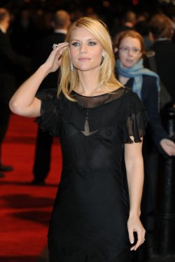 "Actor Claire Danes attends premiere of ""Me and Orson Welles"" in London"