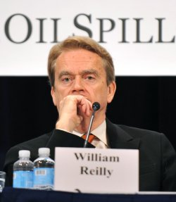 William Reilly, Co-Chair National Commission on the BP Deepwater Horizon Oil Spill and Offshre Drilling, in Washington