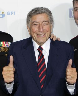 Tony Bennett arrives at the Stand Up For Heros Event at the Beacon Theatre in New York