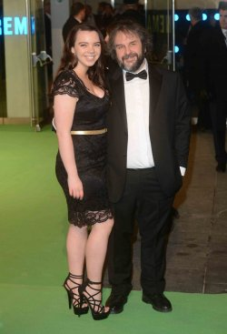 "Sir Peter Jackson attends The UK premiere of ""The Hobbit: An Unexpected Journey"" in London."