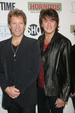 "Jon Bon Jovi and Richie Sambora arrive for the ""Bon Jovi: When We Were Beautiful"" Premiere in New York"