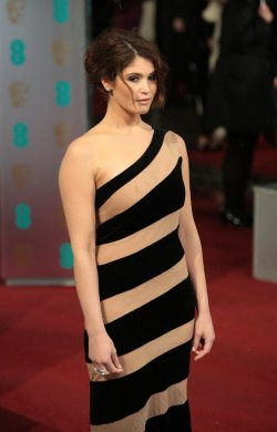 Gemma Arterton arrives at the Baftas Awards Ceremony