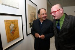 ACTOR AND ART COLLECTOR CHEECH MARIN