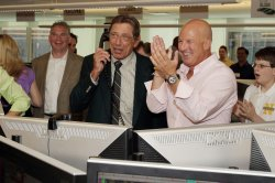 Former New York Jets Quarterback Joe Namath at the 2012 BTIG Commissions for Charity Day in New York