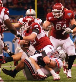 77th Annual Allstate Sugar Bowl Football Classic featuring Arkansas and Ohio Stategar