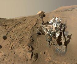 Curiosity Makes a Selfie On Mars