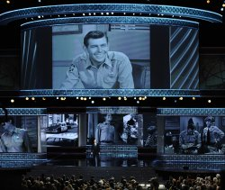 Ron Howard takes stage in Tribute to Andy Griffith at the Emmys in Los Angeles