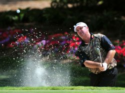Boo Weekley blasts a bunker shot during the TPC Players in Florida