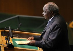 Keny'a President Kibaki speaks at General Assembly at United Nations