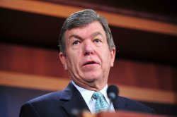 Sen. Roy Blunt speaks on the cut, cap and balance bill in Washington
