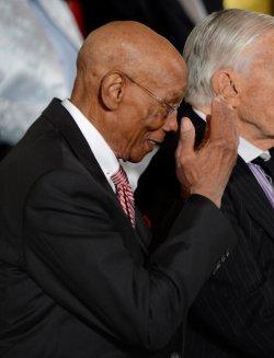 President Barack Obama awards the Presidential Medal of Freedom in Washington