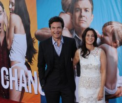 "Jason Bateman and Amanda Anka attend the premiere of ""The Change-Up"" in Los Angeles"